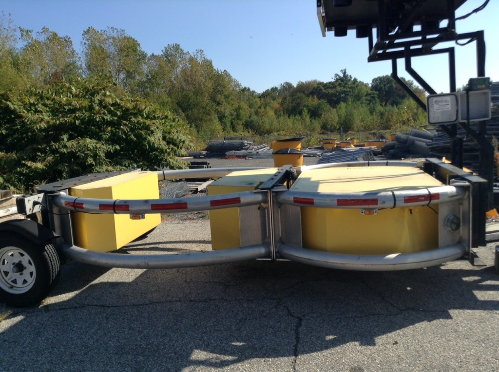 Surplus Scorpion Trailer Mounted Attenuator